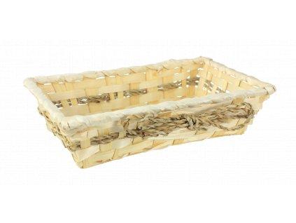 Bambusový košík 26 x 16 x 6 cm