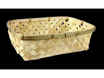 Košík bambusový 24 x 17 x 7 cm