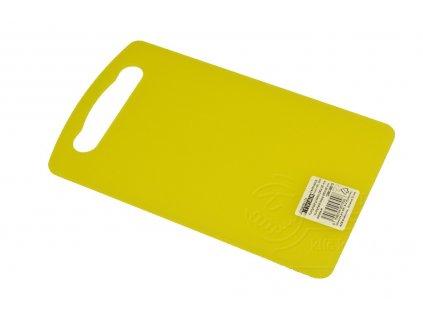 kuchynske prkenko z plastu tvar zlute 24x14 5cm 8590394057008