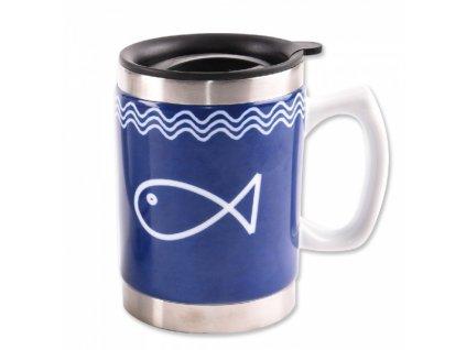 Termohrnek nerez - ryba 0,4 l