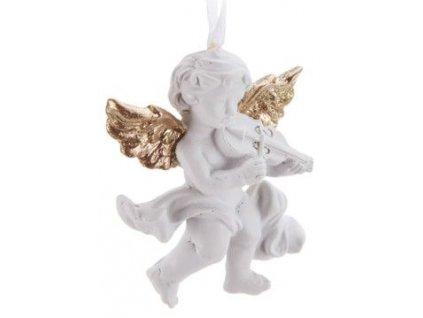 Anděl housle
