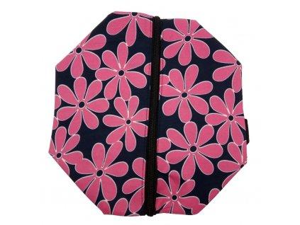 Kosmetická taška květy 25x10x15 cm