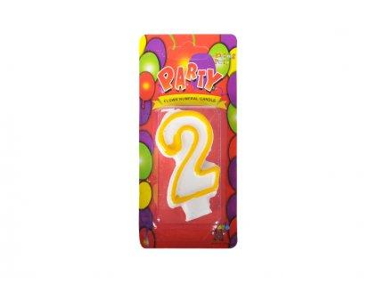 narozeninová svíčka 2