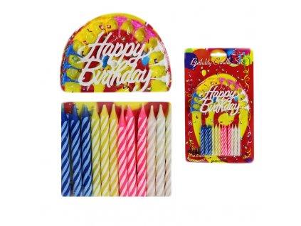 narozeninové svíčky 12ks