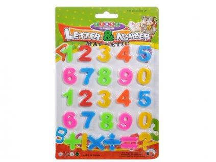 čísla magnetická
