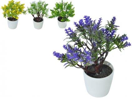 umělá květina v květináči 2