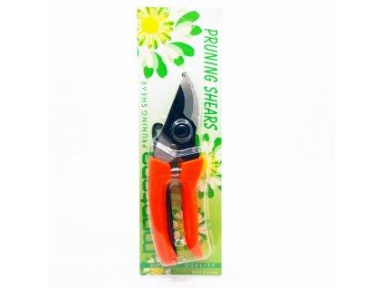 zahradní nůžky oranžové