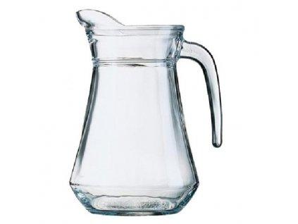 skleněný džbán