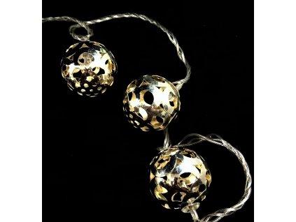 vánoční řetěz koule 2