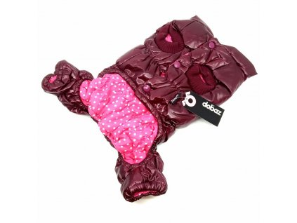 vesta pro psy tmavě růžová