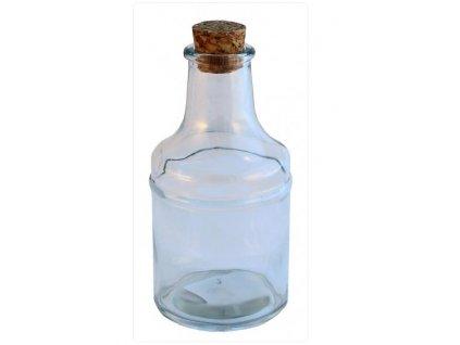 skleněná láhev
