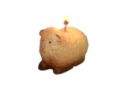 svíčka beránek