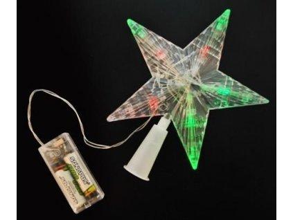 Vánoční hvězda LED na baterie