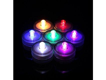 čajové svíčky LED