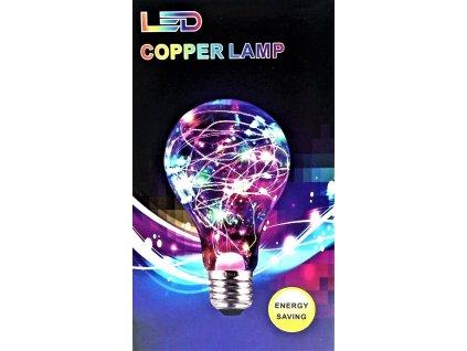 LED barevná žárovka