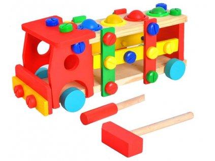 Dřevěné auto 1