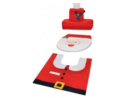 Santa Claus potah na toaletu 1