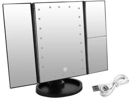 Kosmetické zrcadlo s LED osvětlením 1