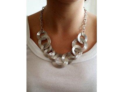 náhrdelník stříbrný 2