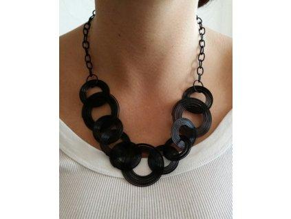 náhrdelník černý 2