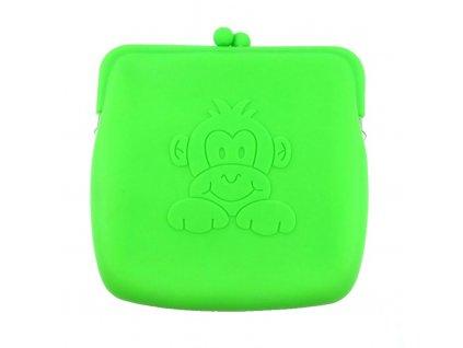 9800 kabelka zelena monkey