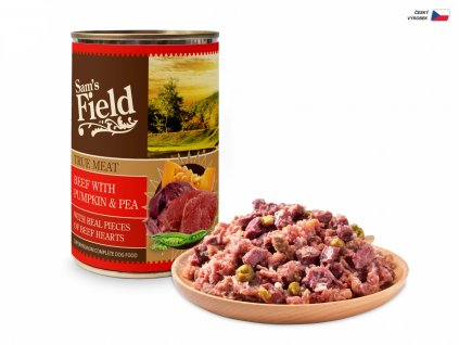 44600 sams field true meat beef with potato and pea 400 g 1