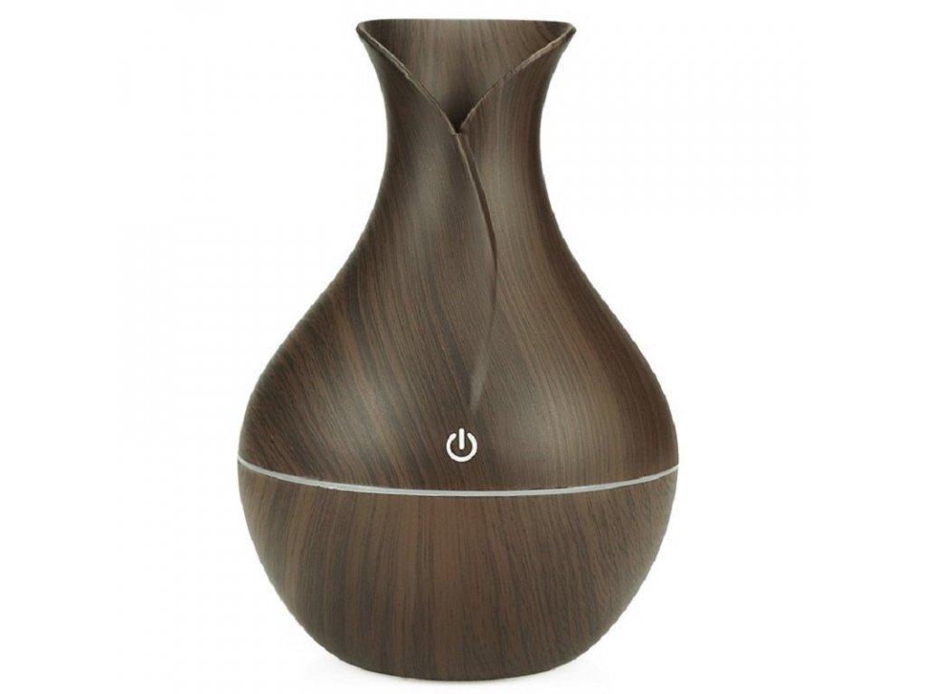 Mini Aroma difuzér / FlowMe Air Sence / objem 130ml / tmavé dřevo