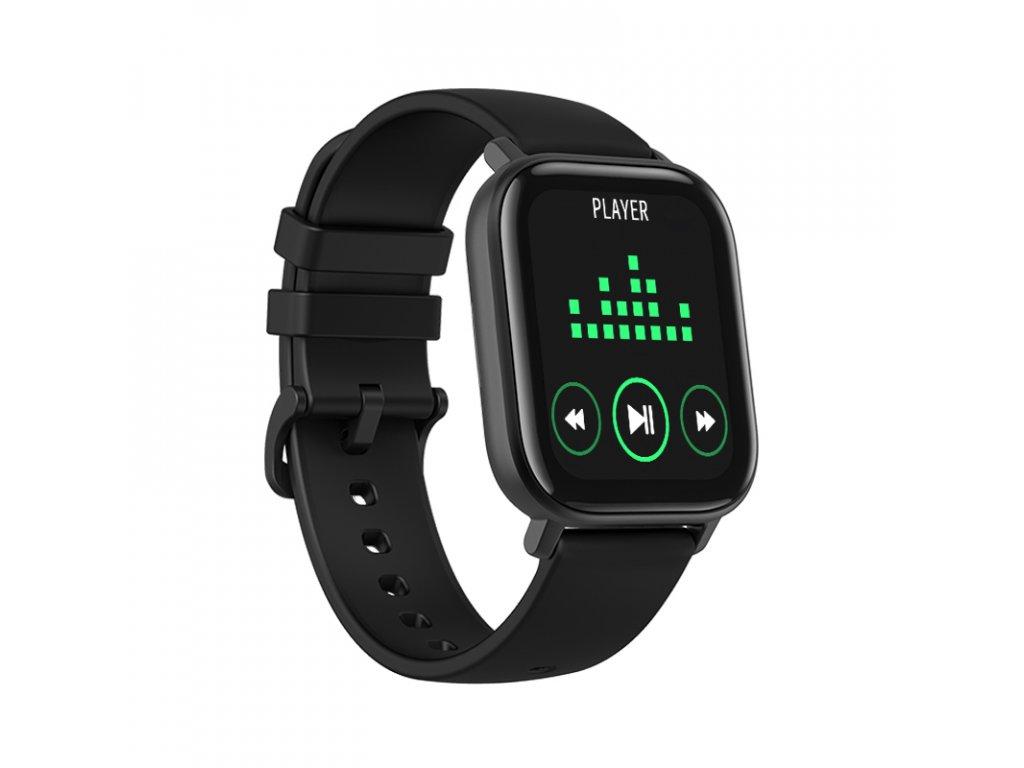 Chytré hodinky / SmartXP8 Fit / černé