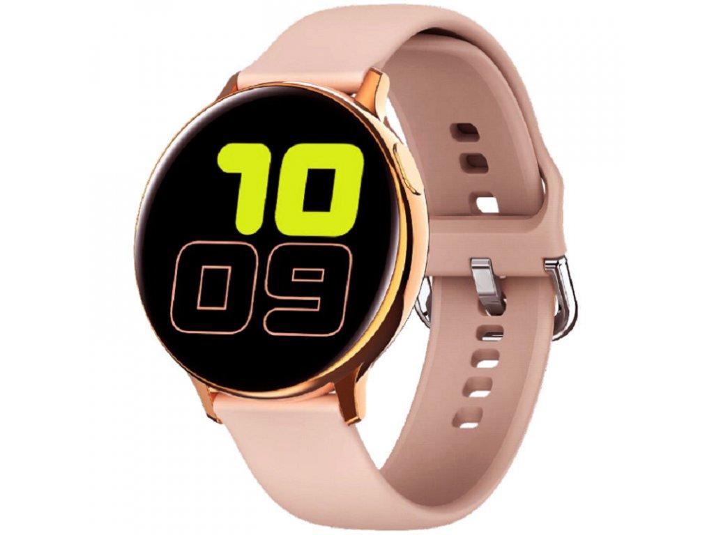 Chytré hodinky / Xfit F20 Pro / růžové