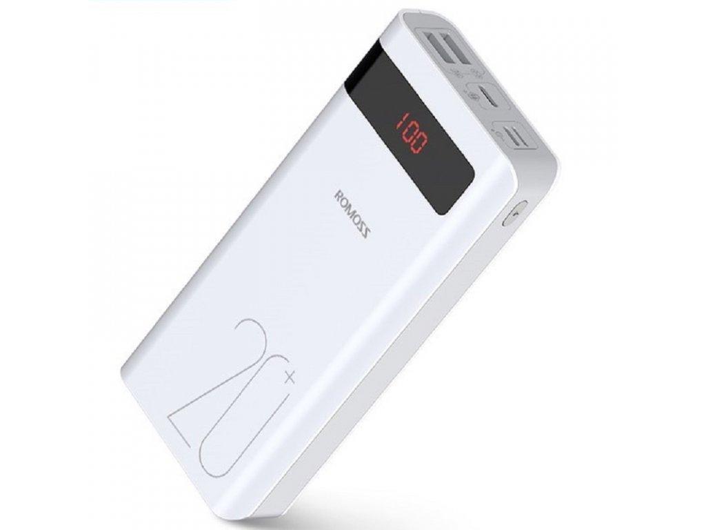 Power Banka Romos Sence6PS+ / 20.000mAh / QC 3.0 s výkonem 18W
