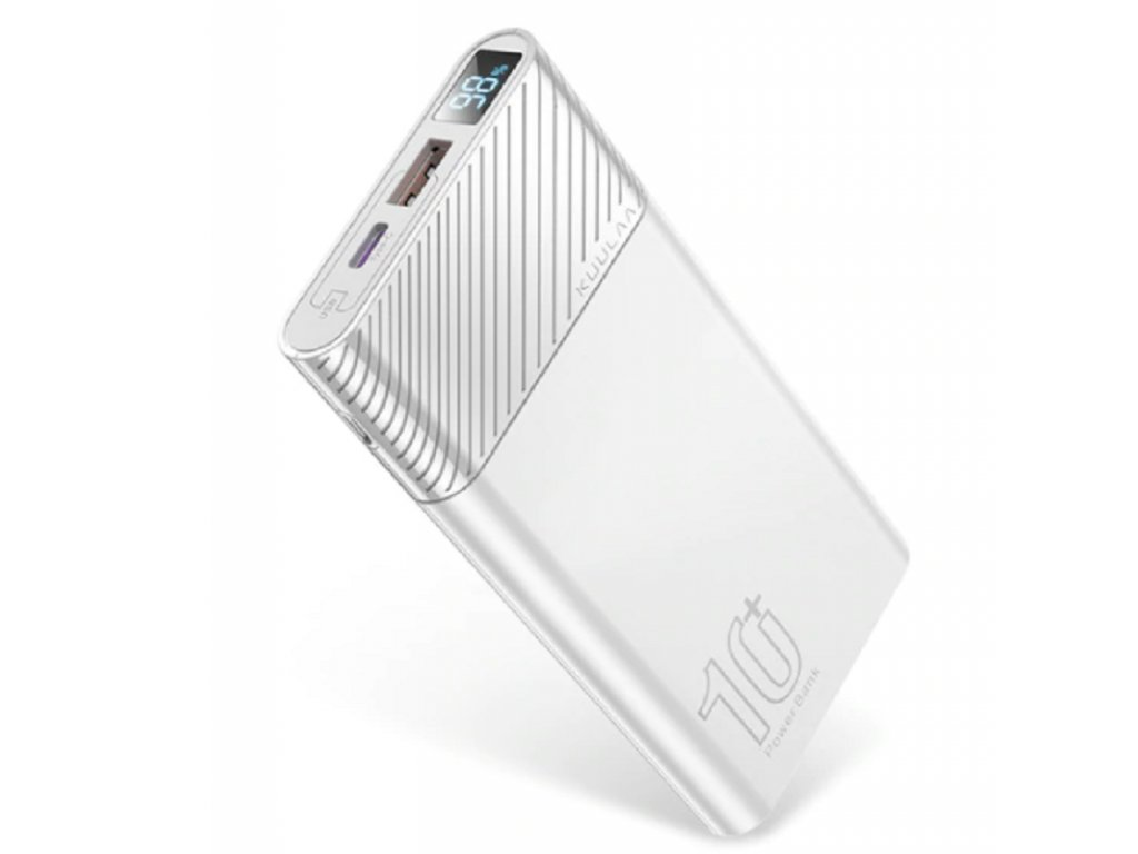 Power Banka KuuLaa PD3.0 / 10.000mAh / Qualcomm Quick Charge 3.0 / bílá