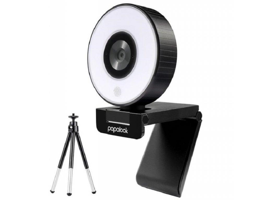 USB Webkamera / AUSDOM PA552 / černá / 1080p FULL HD