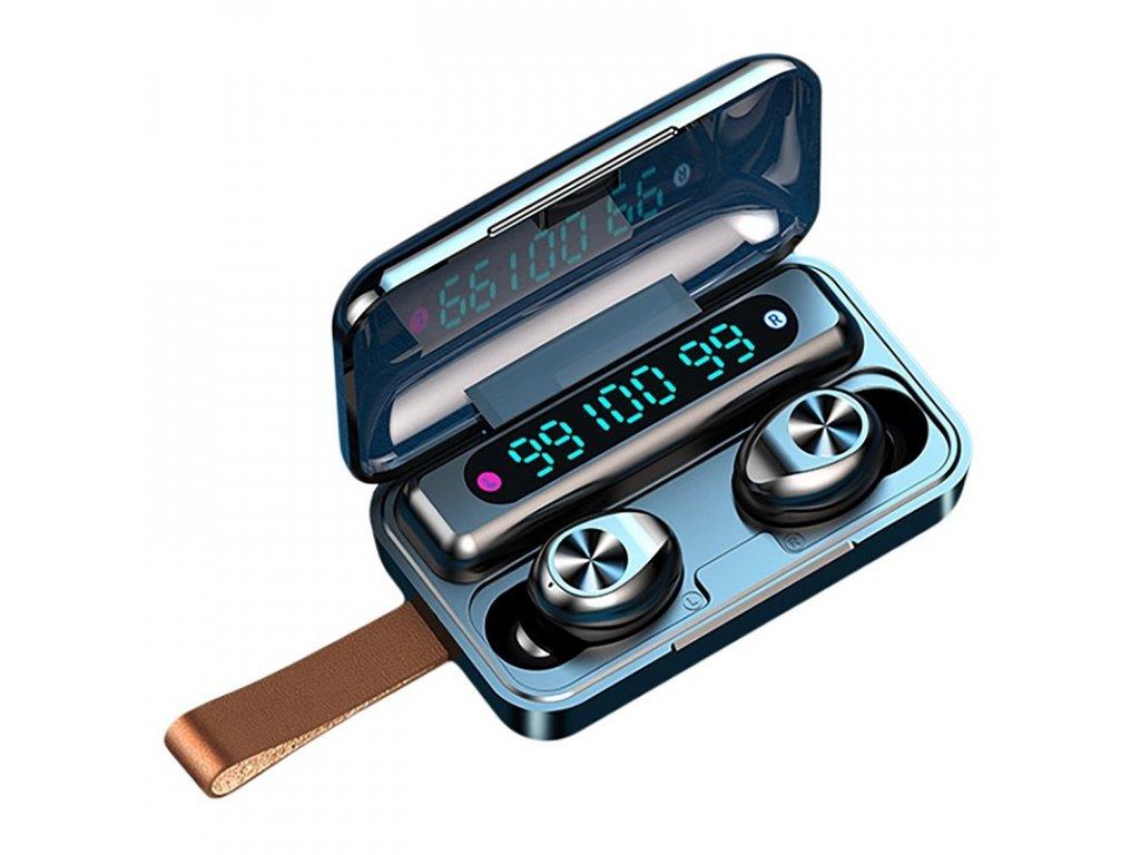 Bezdrátová bluetooth sluchátka / Blue Sound TWS F9-11 / Černé