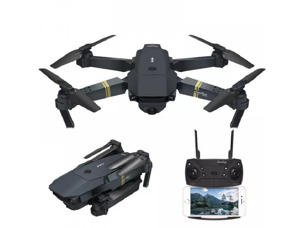 Dron Lamax E58 Pro / HD kamera 1080P / WiFi / dálkové ovládání / 2x baterie