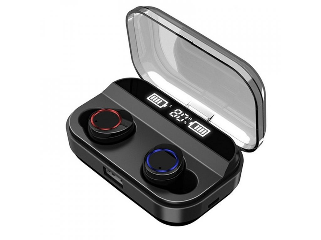Bezdrátová bluetooth sluchátka / Pirrix-X11 TWS Stereo / Černé