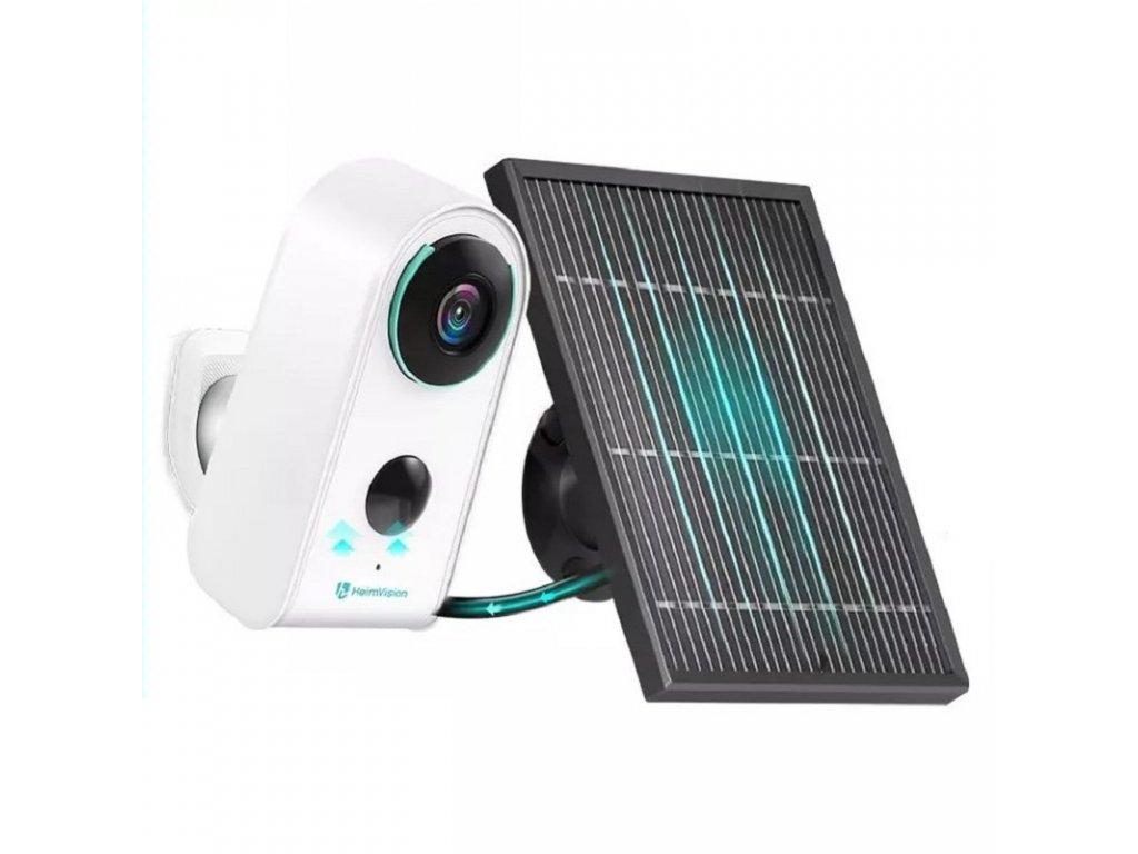Solární WiFi kamera /  HeimVision HMDC3MQ / rozlišení 2MP / baterie 6000mAh