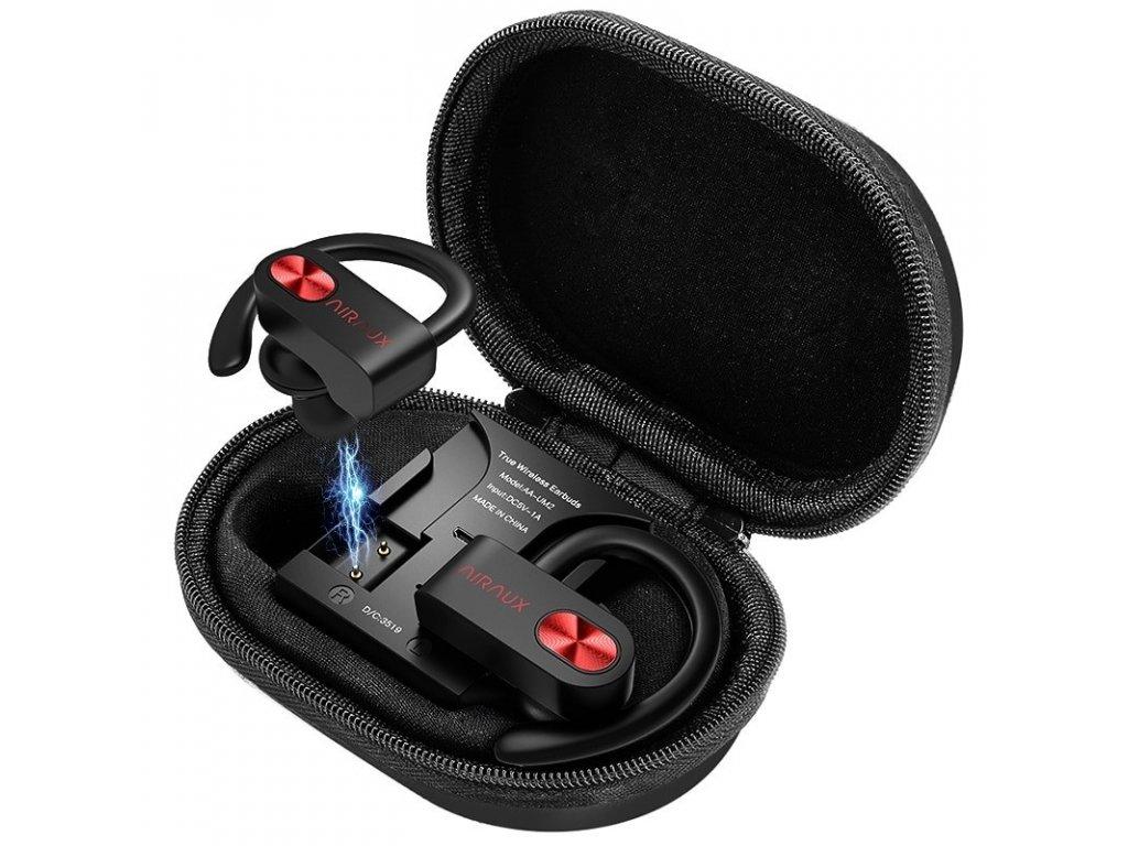 Sportovní sluchátka / AIRAUX UM2 TWS Sport / bluetooth 5.0