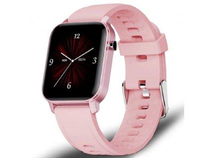 Chytré hodinky / Ligewatch M2 Pro / růžové