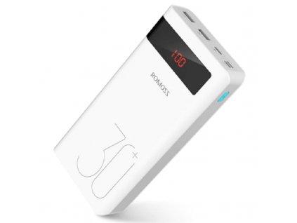 Power Banka Romos Sence8P+ / 30.000mAh / QC 3.0 s výkonem 18W