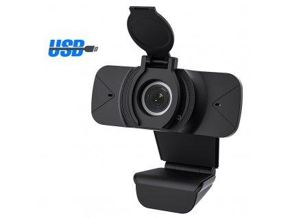 USB Webkamera / iGeek Web-M2 / černá 1080p FULL HD