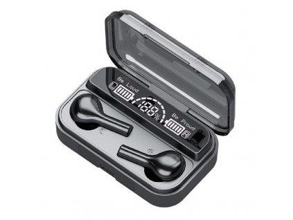 Bezdrátová bluetooth sluchátka / BlueSound TWS-X1 / Černé