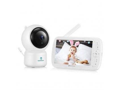 "Dětská chůvička / HeimVision HMB33 / barevný displej 5"" / automatické otáčení / nahrávání záznamu na SD kartu /"
