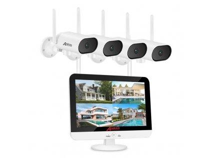 WiFi kamerový systém / ANRAN DW18-P / rozlišení 5MP / úložiště 1TB