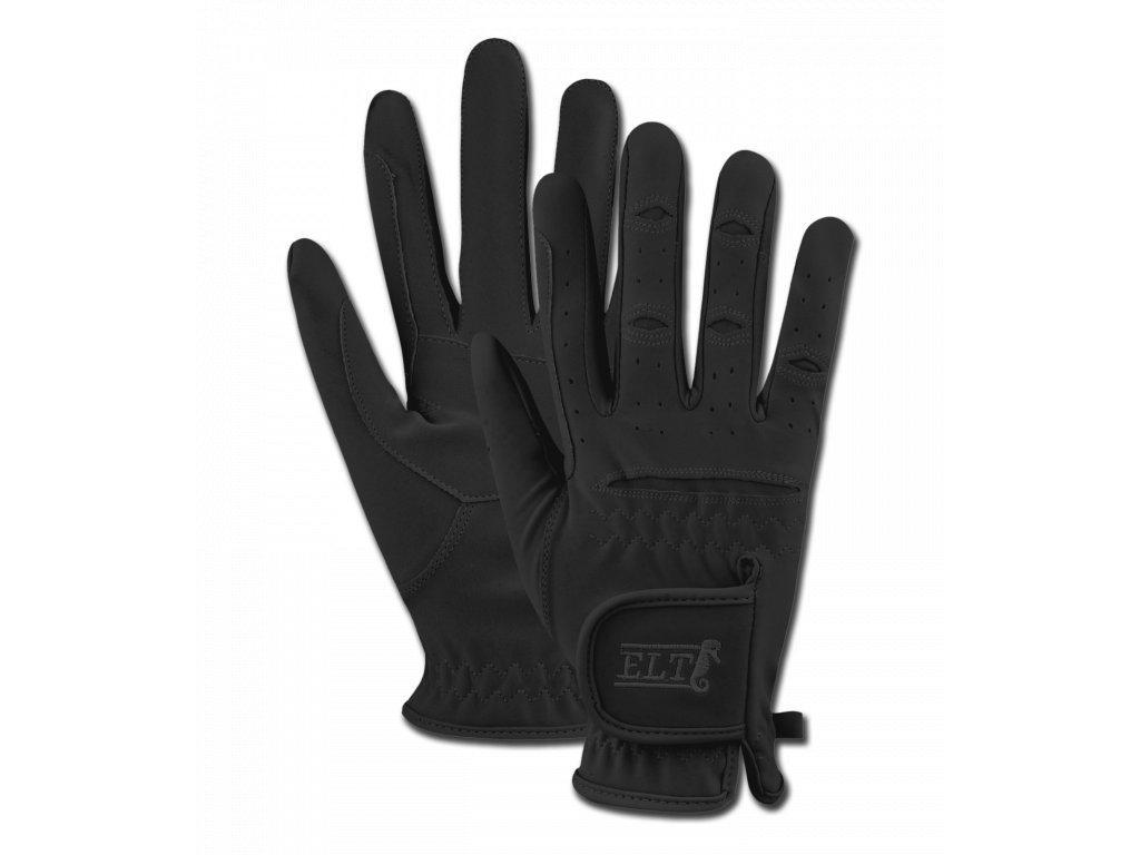 196 rukavice jezdecke variety elt cerne s