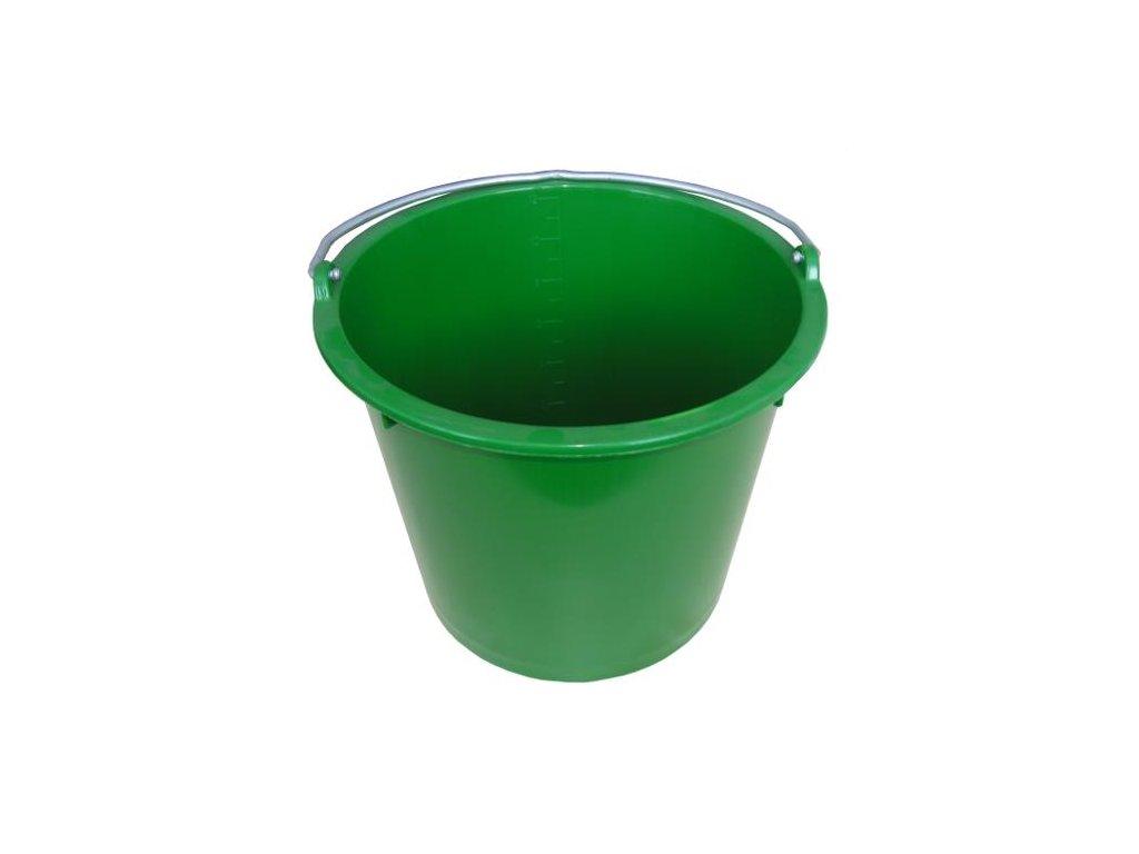 Kbelík GEWA, 12 l, zelený