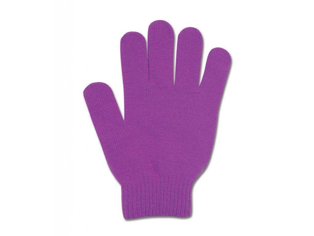 211 rukavice magic grippy elt fialove detske