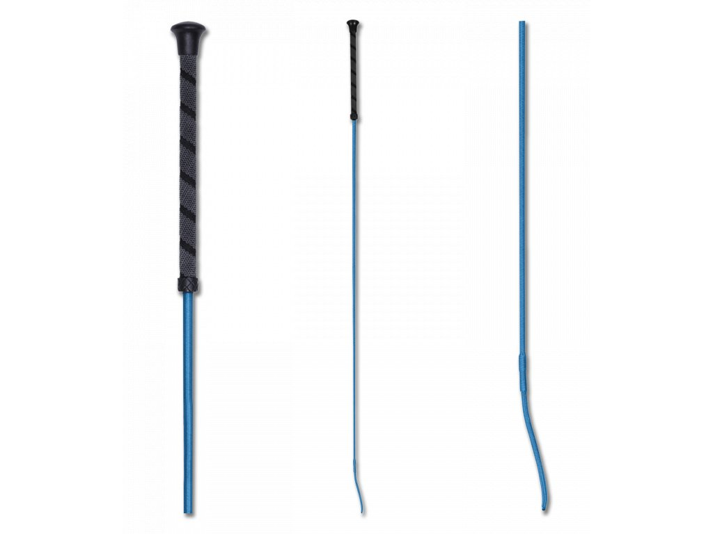 241 bic drezurni s anti slip rukojeti azurove modry 110cm