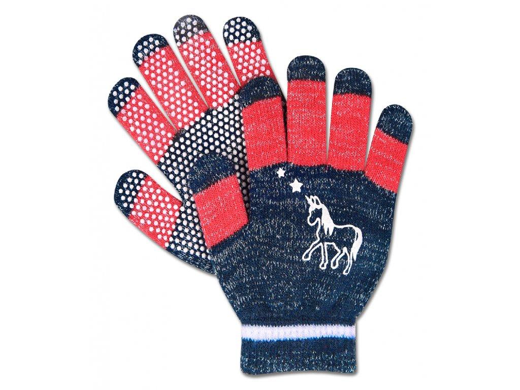 283 rukavice unicorn elt protiskluzove detske