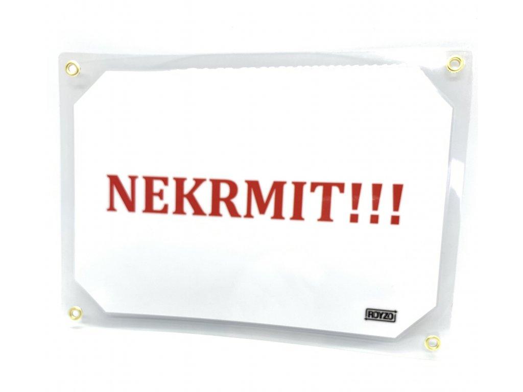 Tabulka Nekrmit