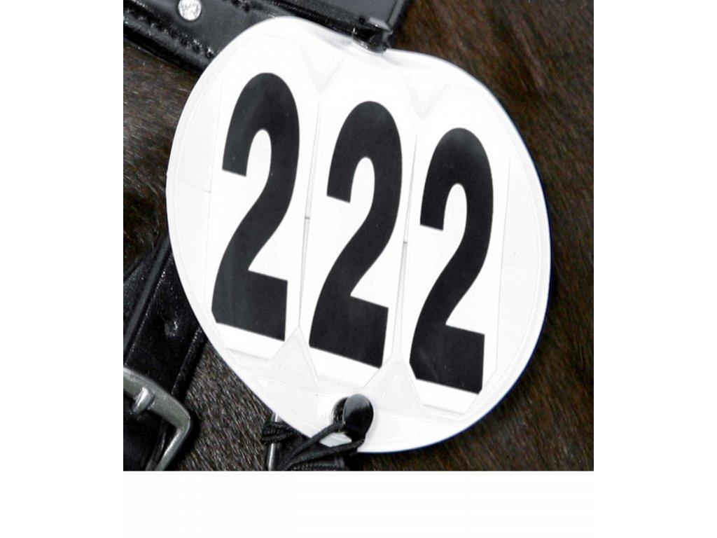 Závodní číslo trojmístné Waldhausen